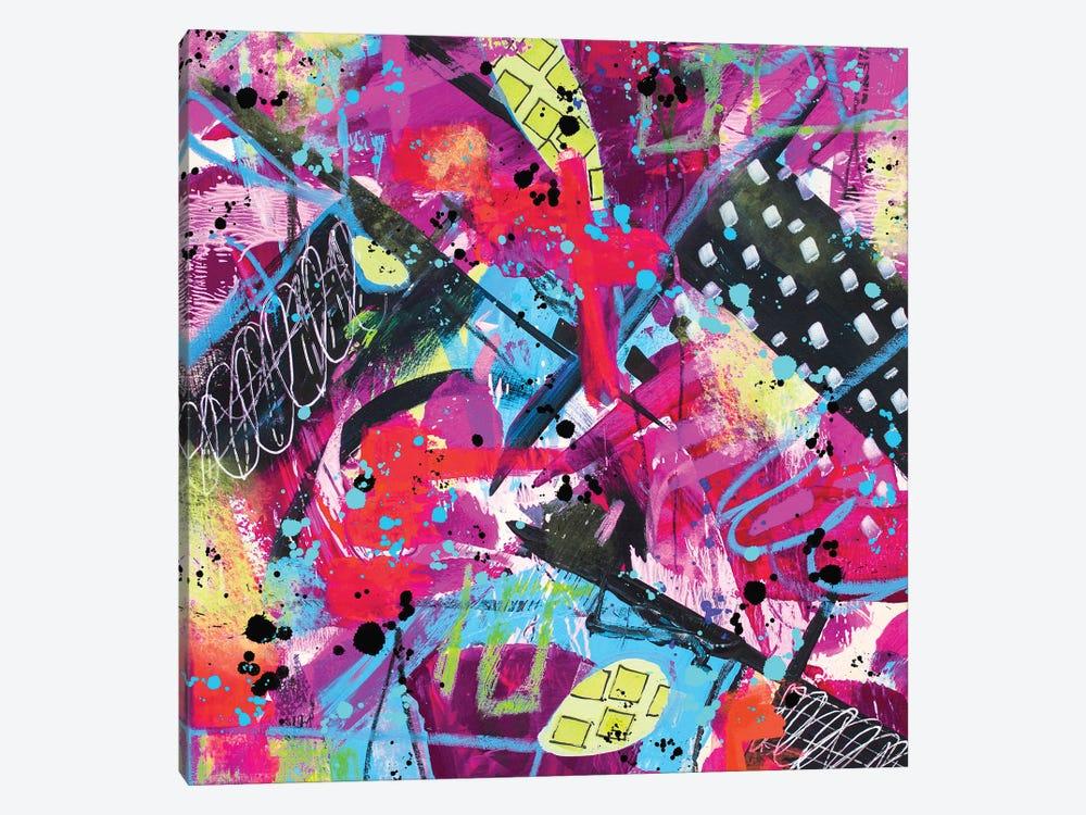Making A Mess by Lanie K. Art 1-piece Canvas Artwork