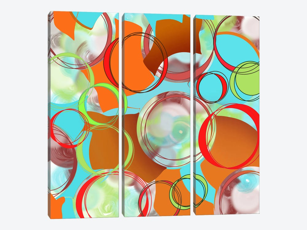 Through To The Other Side by Lanie K. Art 3-piece Canvas Print