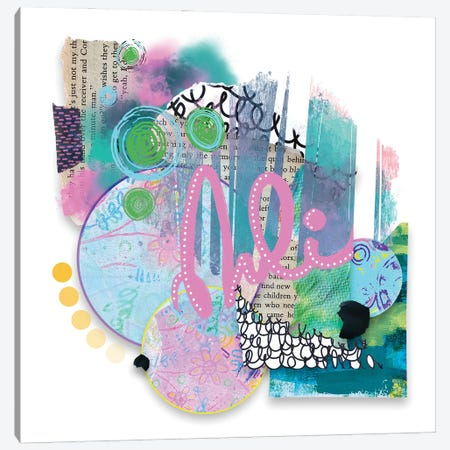 Spring Forward Canvas Print #LKA36} by Lanie K. Art Canvas Artwork