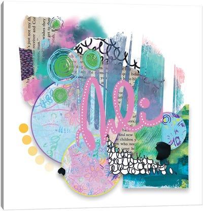 Spring Forward Canvas Art Print