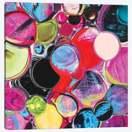 Melting Glass Spheres Canvas Print #LKA40} by Lanie K. Art Canvas Wall Art