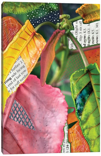 Leaf-Ing Home For The Tropics Canvas Art Print