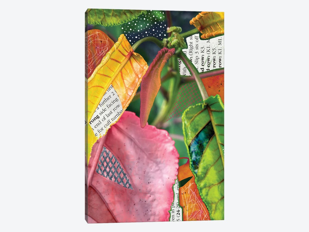 Leaf-Ing Home For The Tropics by Lanie K. Art 1-piece Art Print