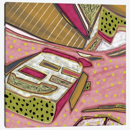 Boating Around Canvas Print #LKA47} by Lanie K. Art Canvas Print