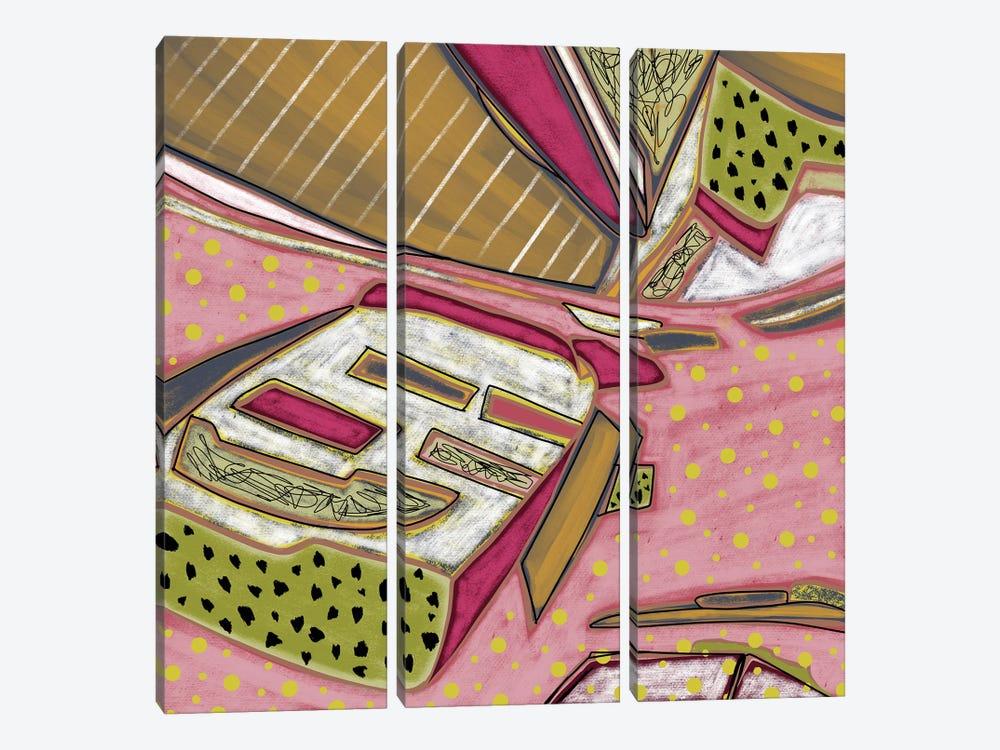 Boating Around by Lanie K. Art 3-piece Canvas Art Print
