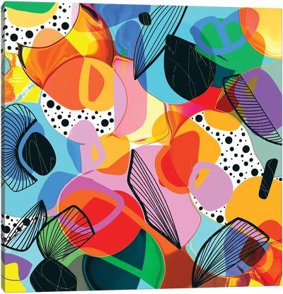 Bursting Bubbles Canvas Art Print