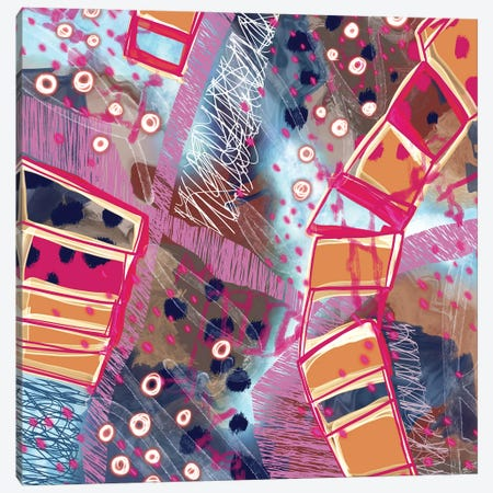 Ice Under My Feet Canvas Print #LKA50} by Lanie K. Art Canvas Art Print