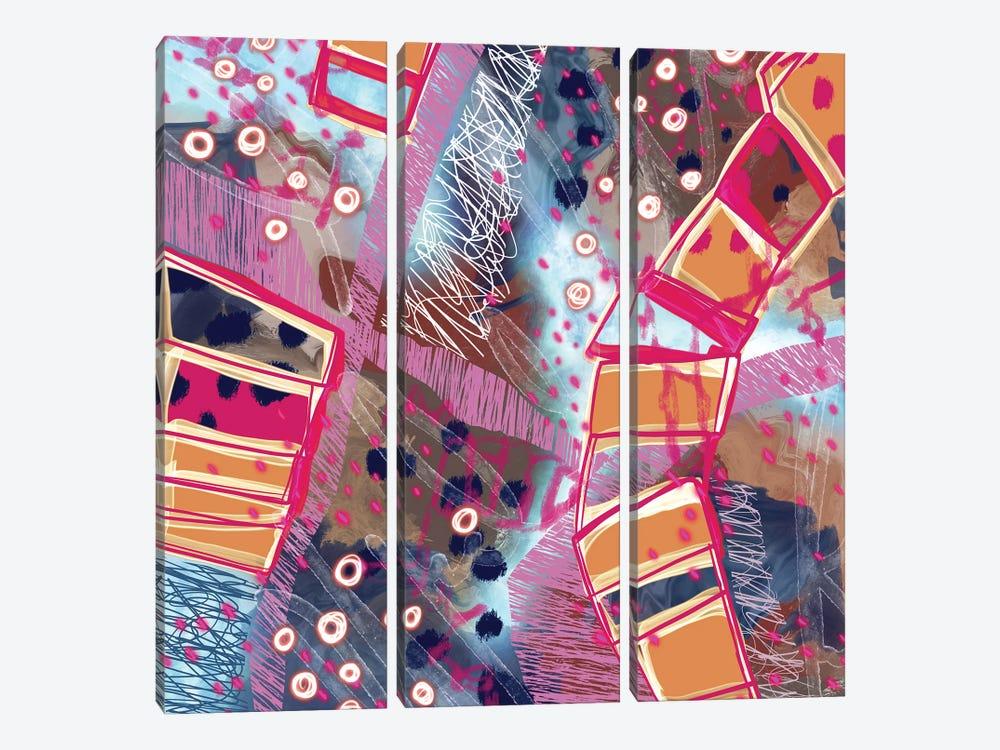 Ice Under My Feet by Lanie K. Art 3-piece Canvas Print