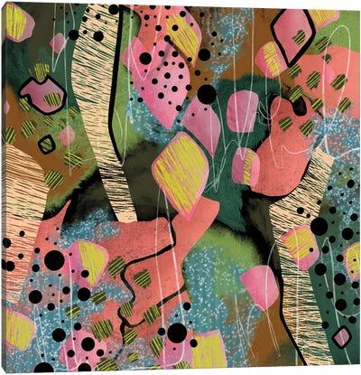 Toucans And Tropics Canvas Art Print