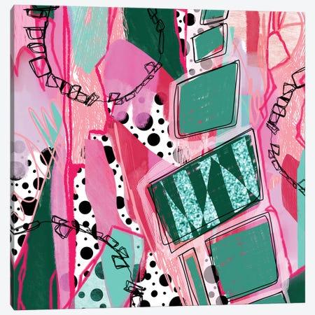 Coaster Rings Canvas Print #LKA53} by Lanie K. Art Canvas Print