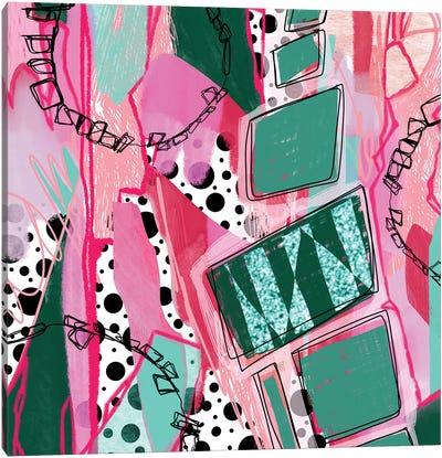 Coaster Rings Canvas Art Print