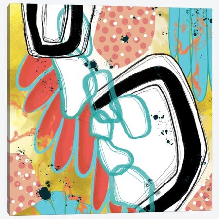 Eurythmic Canvas Print #LKA5} by Lanie K. Art Canvas Art