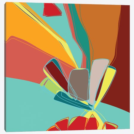 Contemporary Sanction Canvas Print #LKA6} by Lanie K. Art Canvas Art