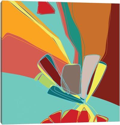 Contemporary Sanction Canvas Art Print