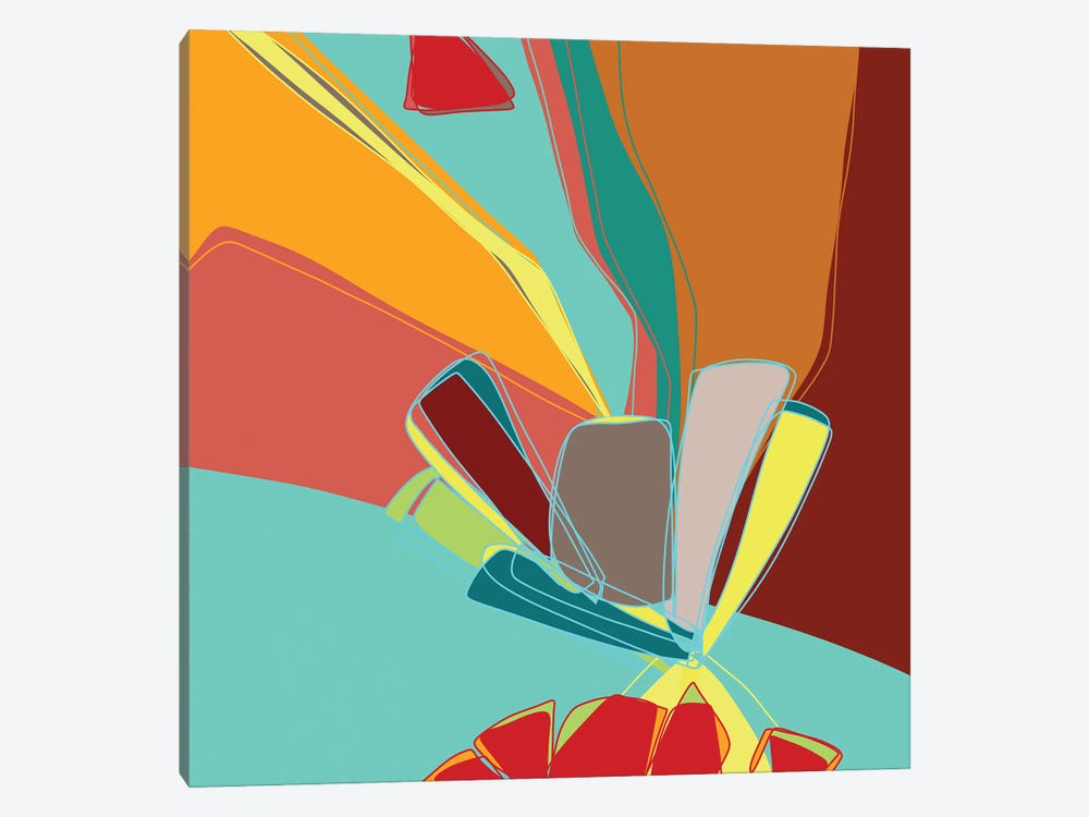 Contemporary Sanction by Lanie K. Art 1-piece Canvas Artwork