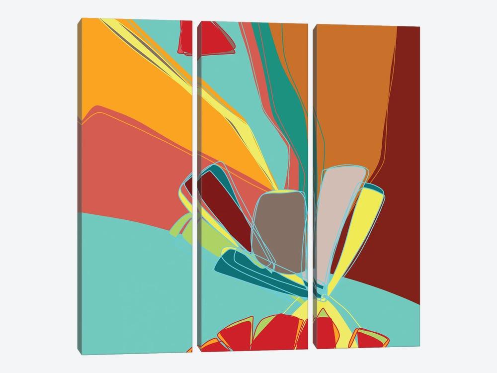 Contemporary Sanction by Lanie K. Art 3-piece Canvas Artwork