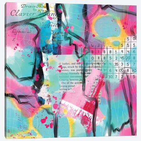 Numbers Up Canvas Print #LKA8} by Lanie K. Art Canvas Print