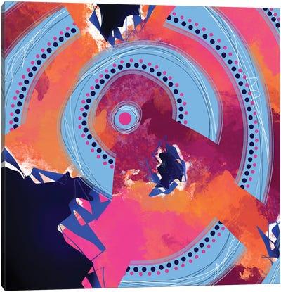 On An Upward Spiral Canvas Art Print