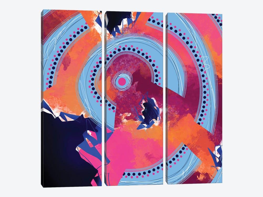 On An Upward Spiral by Lanie K. Art 3-piece Canvas Print
