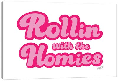 Rollin With The Homies Canvas Art Print