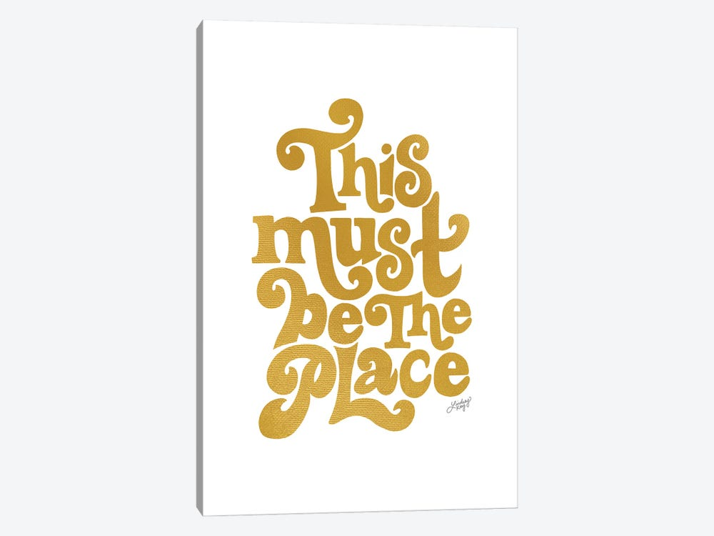 This Must Be The Place II by LindseyKayCo 1-piece Canvas Wall Art