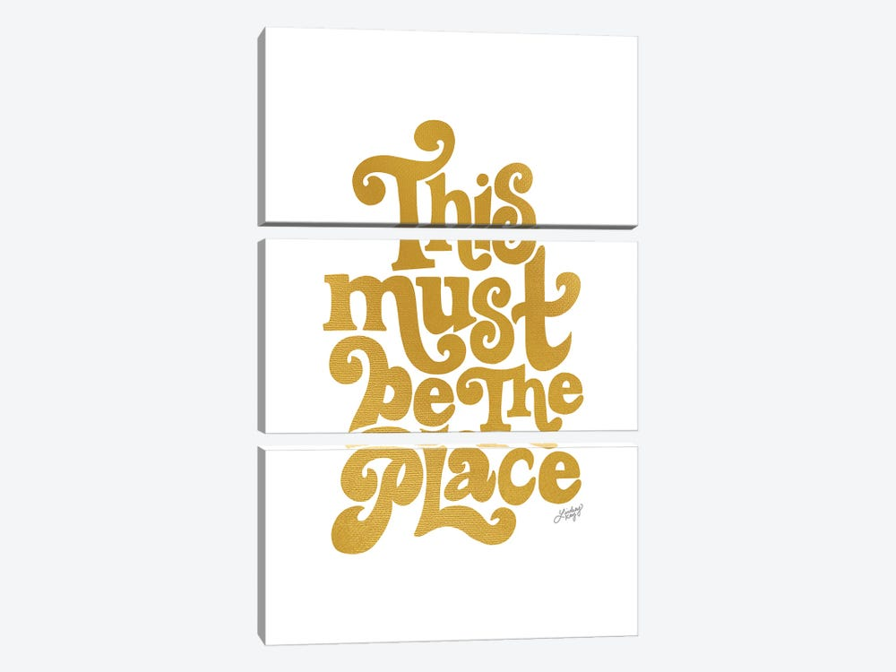 This Must Be The Place II by LindseyKayCo 3-piece Canvas Art
