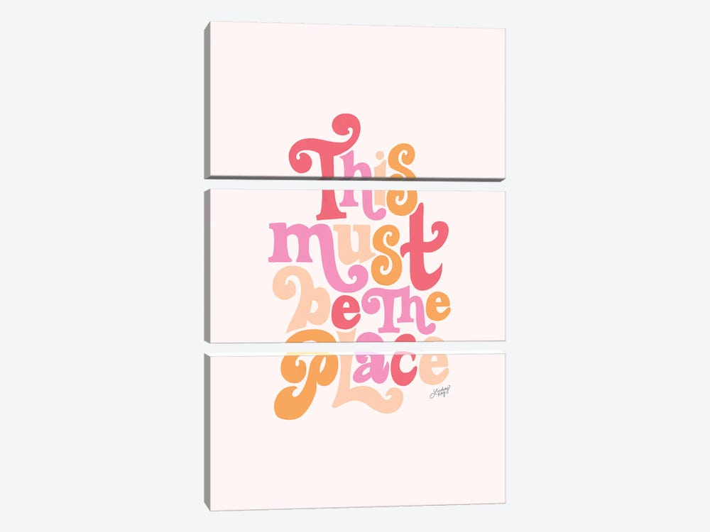 This Must Be The Place III by LindseyKayCo 3-piece Art Print