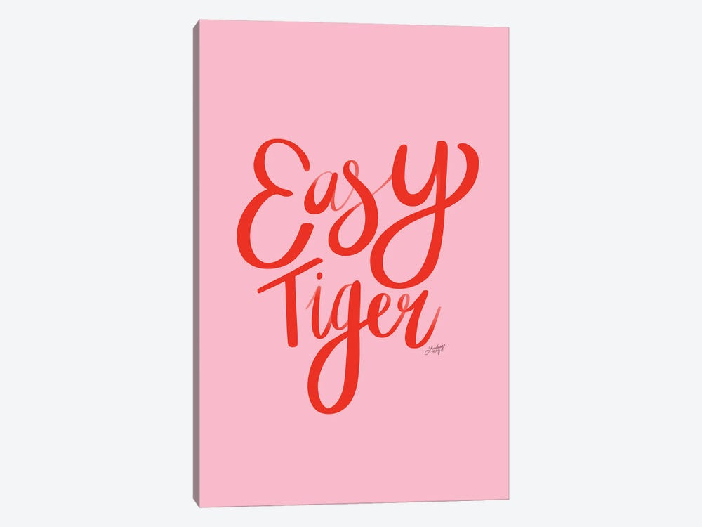 Easy Tiger I by LindseyKayCo 1-piece Canvas Artwork