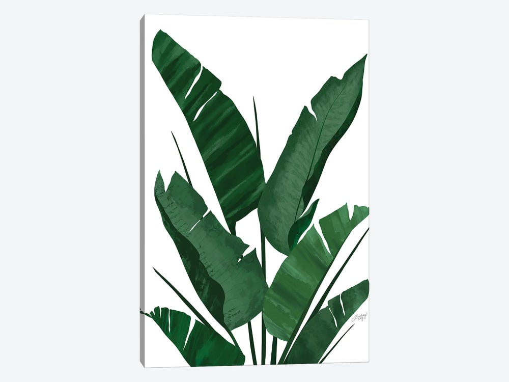 Banana Leaf Plant Collage I by LindseyKayCo 1-piece Canvas Artwork
