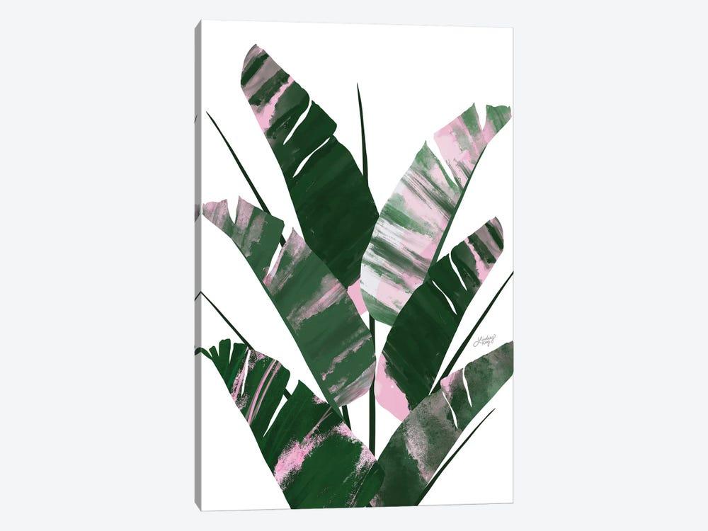Banana Leaf Plant Collage II by LindseyKayCo 1-piece Art Print