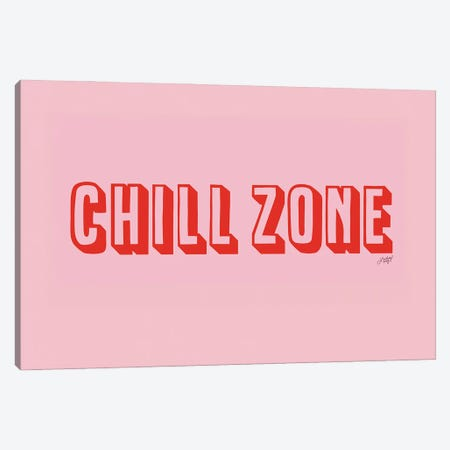 Chill Zone Canvas Print #LKC141} by LindseyKayCo Canvas Artwork