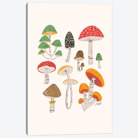 Mushrooms Canvas Print #LKC161} by LindseyKayCo Canvas Art