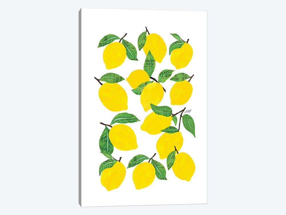 Lemons by LindseyKayCo 1-piece Canvas Art Print