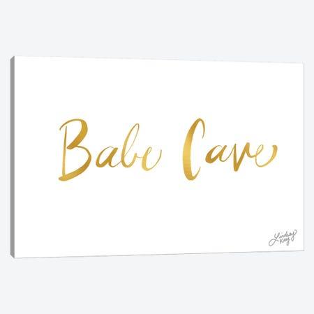 Babe Cave Canvas Print #LKC1} by LindseyKayCo Canvas Print
