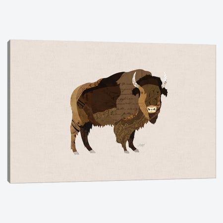 Buffalo Collage Canvas Print #LKC7} by LindseyKayCo Canvas Artwork