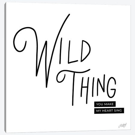 Wild Thing Canvas Print #LKC87} by LindseyKayCo Canvas Print