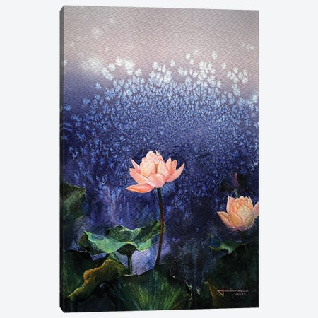 Blossom Canvas Print #LKM1} by Liam Kumawat Canvas Print