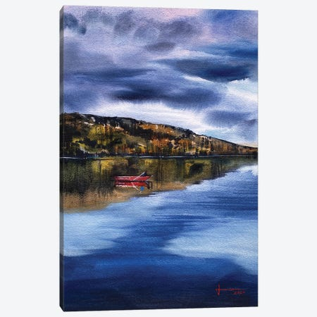 Lagoon Canvas Print #LKM24} by Liam Kumawat Canvas Print