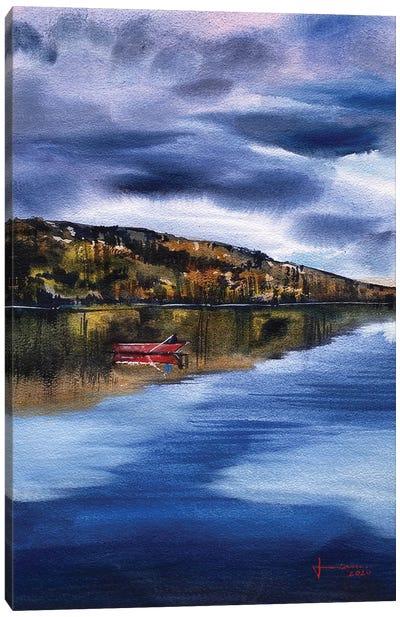 Lagoon Canvas Art Print