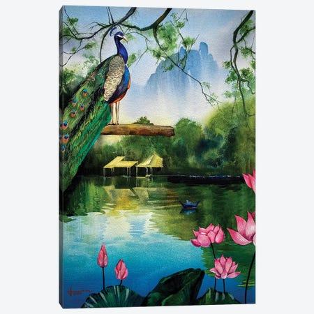 Serenity Canvas Print #LKM29} by Liam Kumawat Canvas Wall Art