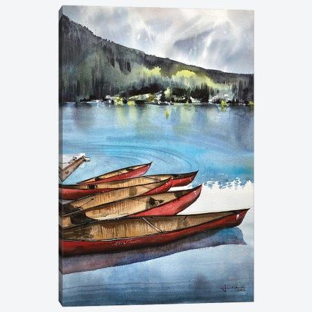 Lake Louise II Canvas Print #LKM30} by Liam Kumawat Canvas Art Print