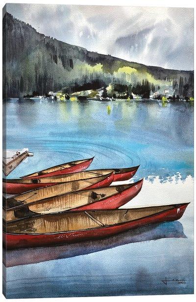 Lake Louise II Canvas Art Print