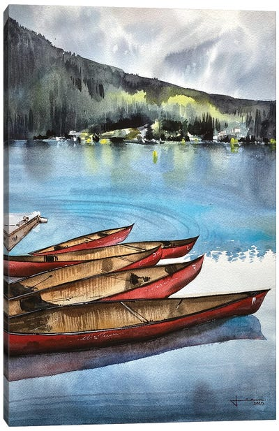 Lake Louise II Canvas Art Print
