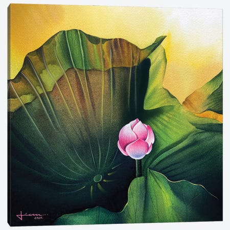 Bloom II Canvas Print #LKM31} by Liam Kumawat Canvas Print