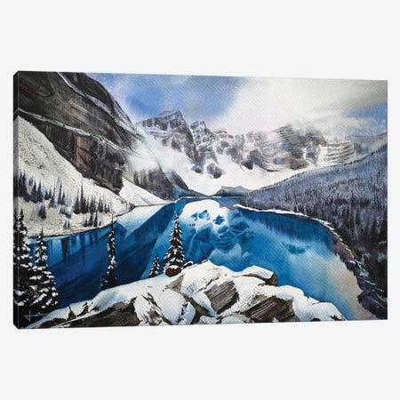 Glimpse Canvas Print #LKM34} by Liam Kumawat Canvas Art
