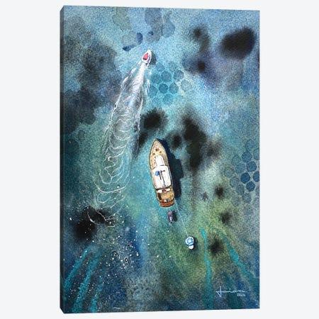 Speed Canvas Print #LKM36} by Liam Kumawat Canvas Art