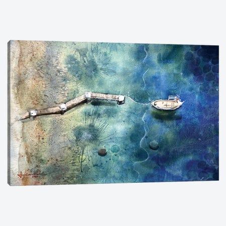 Wave Canvas Print #LKM39} by Liam Kumawat Canvas Art Print