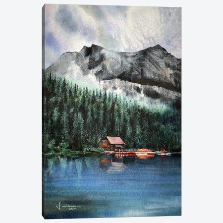 Breeze Canvas Print #LKM3} by Liam Kumawat Art Print
