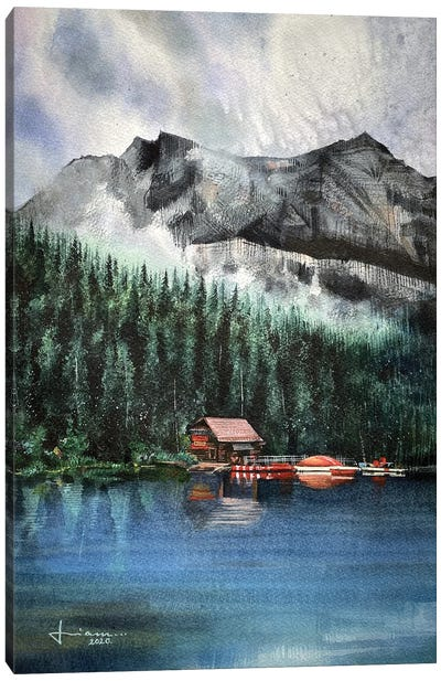 Breeze Canvas Art Print