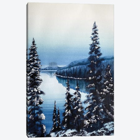Paysage Canvas Print #LKM43} by Liam Kumawat Canvas Wall Art
